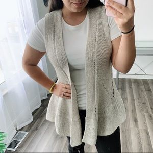 Anthropologie Angel of the North knit sleeveless